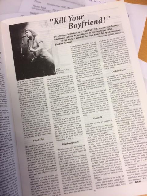 Marit Bergman, Akasha Magazine