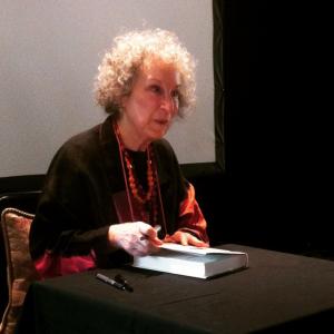 Margaret Atwood, Kulturhuset Stockholm 2015