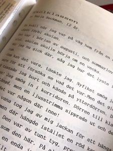 Udrag ur novell