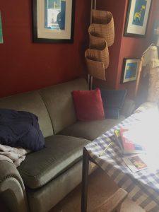 Soffa på kontor, Telefonplan