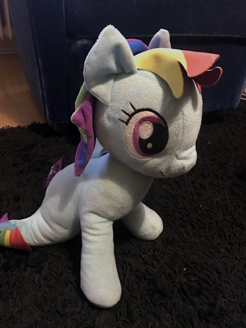 Rainbow dash, gosedjur