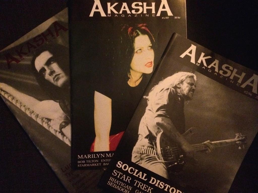 Akasha magazine, Lemmy Kilmister, Peter Steele