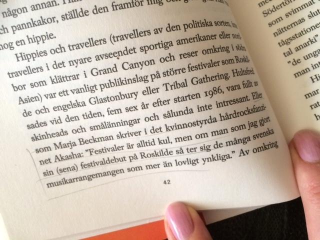Citat ur Karolina Ramqvists bok När svenska pojkar började dansa.