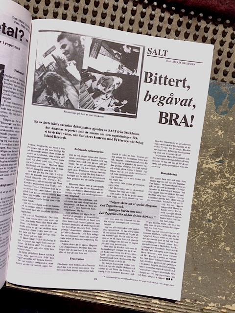Akasha Magazine, Intervju med Salt