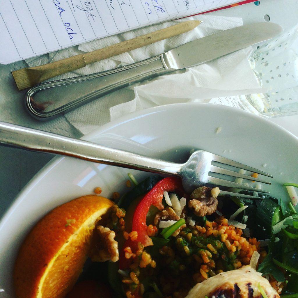 Mat och skrivande