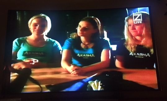 Akasha på Z-TV