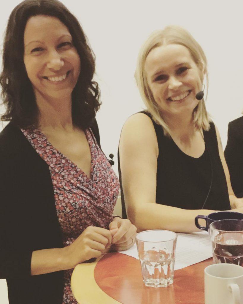 Fatima Bremmer och Marja Beckman